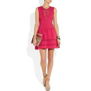 NEW Maje Acrobate Stretch Crepe Jersey Dress